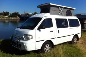 KIA Predgio poptop - Allseasons Campervans