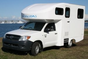 motorhome conversions by Allseasons Campervans
