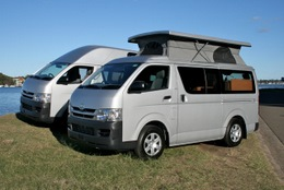 Toyota conversions by Allseasons Campervans