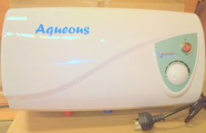 aqueous water heater - Allseasons Campervans