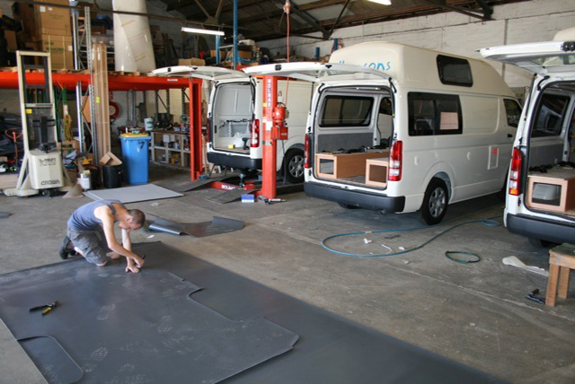 The Allseasons Campervan factory