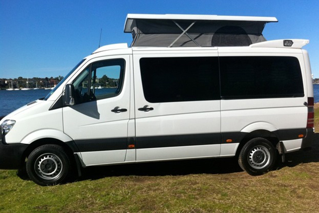 pop up conversion by Allseasons Campervans