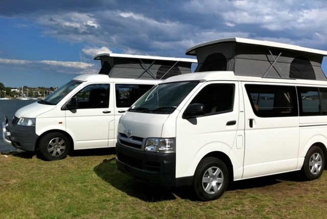 Pop top conversions by Allseasons Campervans
