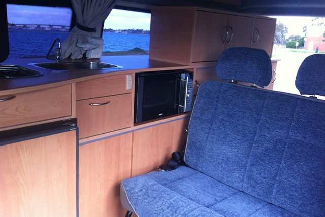 internal conversion by Allseasons Campervans