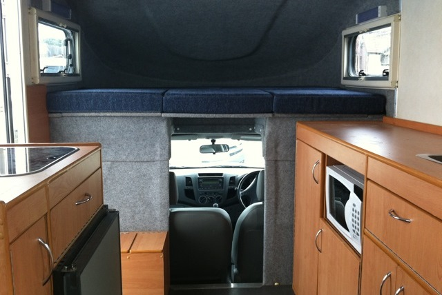 Motorhome conversions by Allseason Campervans