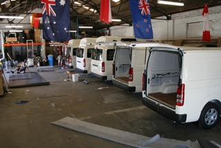 Allseasons Campervans factory