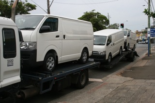 Transporting Campervans by Allseasons Campervans