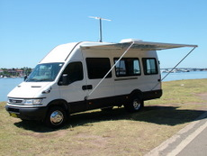 Ford conversion by Allseasons Campervans
