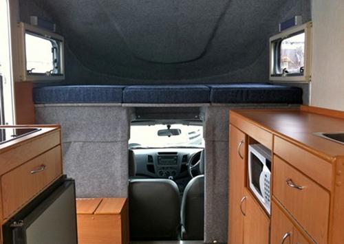 Toyota Hilux motorhome by Allseasons Campervans