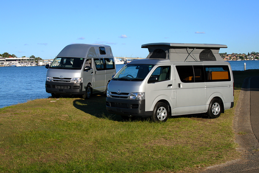 Allseasons Campervans - PopTop Campervans