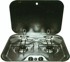 smev drop in stove - Allseasons Campervans