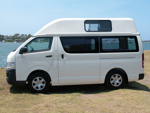Toyota Hitop conversion by Allseasons Campervans