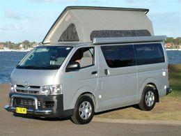 Toyota Flip Top Conversion by Allseasons Campervans