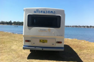 toyota four berth - Allseasons Campervans