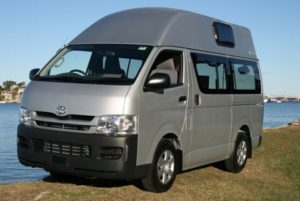 Toyota Hiace Hi-top by Allseasons Campervans