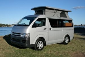 Toyota Poptop conversion by Allseasons Campervans