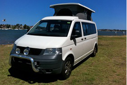 Volkswagon pop top by Allseasons Campervans