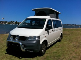 Volkswagon VW poptop conversion by Allseasons Campervans